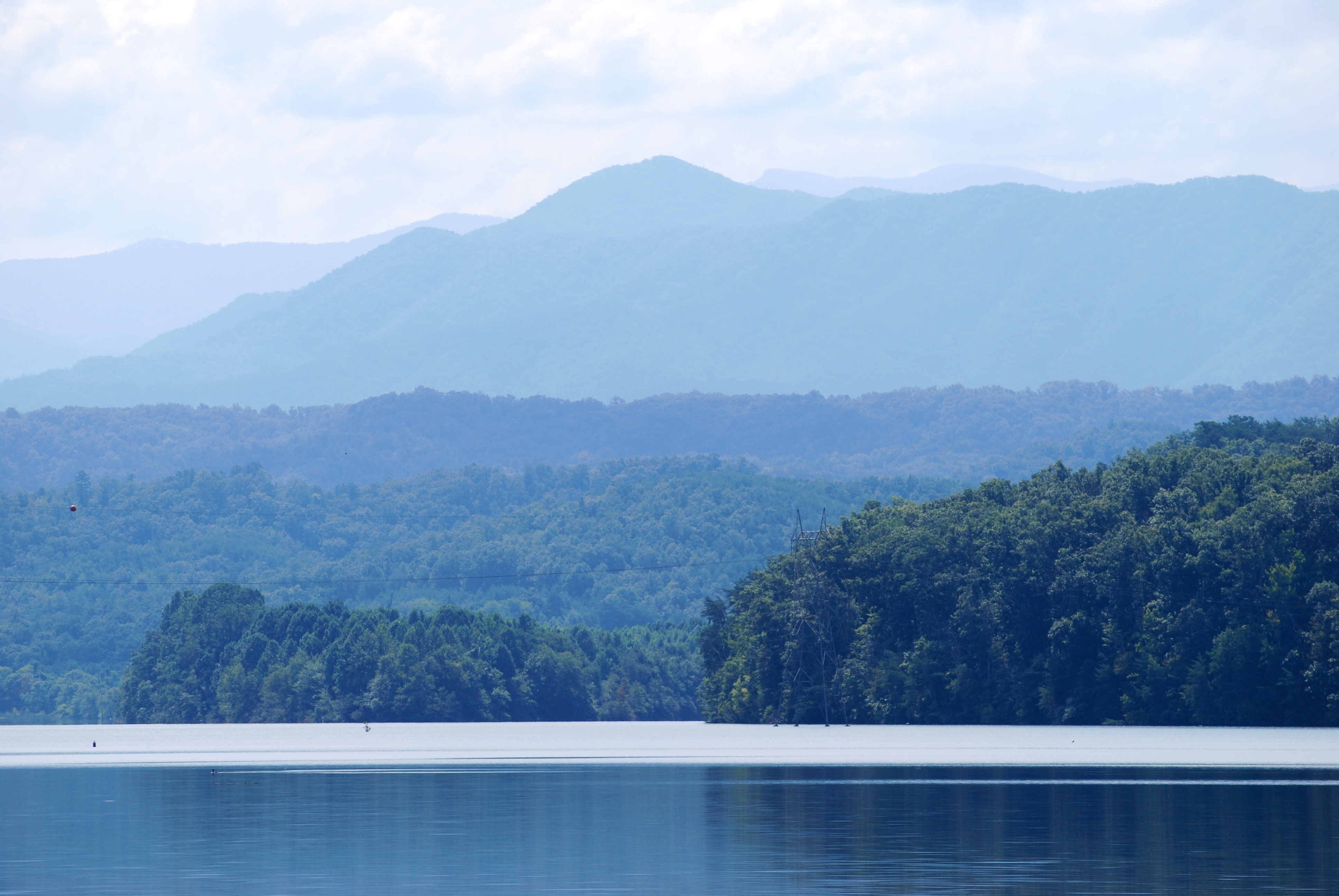 Cruising the tennessee river it is another beautiful day for cruising with little wind and humidity and temperatures in the low 80s on these inland lakes one does not have to worry publicscrutiny Choice Image